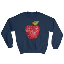 The Future Depends On Public School Crewneck Sweatshirt