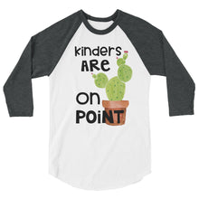 Kinders Are On Point Baseball Shirt
