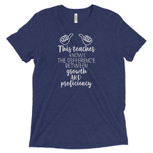 This Teacher Knows the Difference Between Growth and Proficiency T Shirt