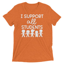 I Support All Students Tri-Blend