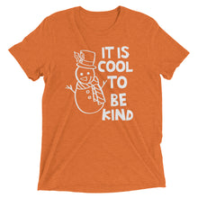 It Is Cool To Be Kind Tri Blend Shirt