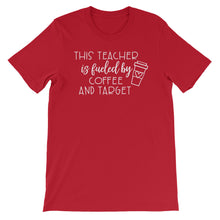 This Teacher is Fueled by Coffee and Target Shirt