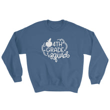 4th Grade Squad Crewneck Sweatshirt