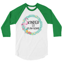 Kinder Is Flamazing Baseball Shirt