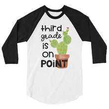 Third Grade Is On Point Baseball Shirt