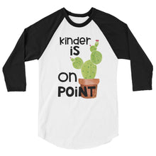 Kinder Is On Point Baseball Shirt