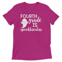Fourth Grade Is Spooktacular Tri Blend Shirt