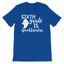 Sixth Grade Is Spooktacular Shirt