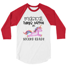 Magical Things Happen in Second Grade Baseball Shirt
