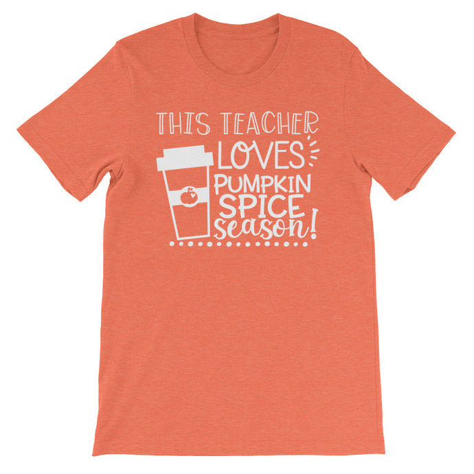 This Teacher Loves Pumpkin Spice Season