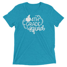 Fourth Grade Squad Tri-Blend Shirt