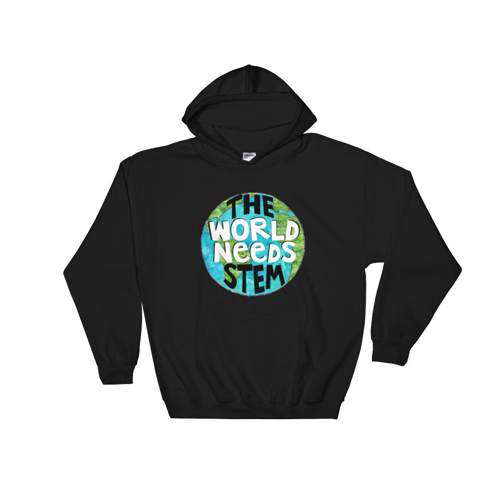 The World Needs STEM Hooded Sweatshirt