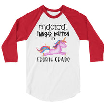 Magical Things Happen in Fourth Grade Baseball Shirt