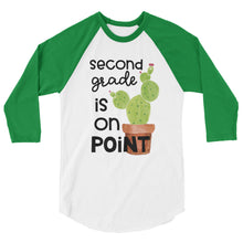 Second Grade Is On Point Baseball Shirt