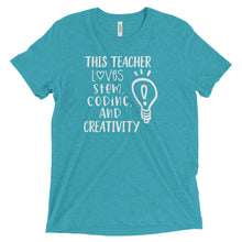 This Teacher Loves STEM, Coding, and Creativity T-Shirt