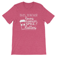 This Teacher Loves Pumpkin Spice Lattes Shirt