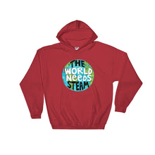 The World Needs STEAM Hooded Sweatshirt