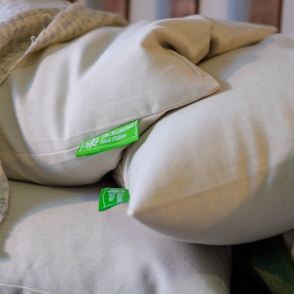 Buckwheat Hull Pillow - Pillows - The Natural Bedding Company