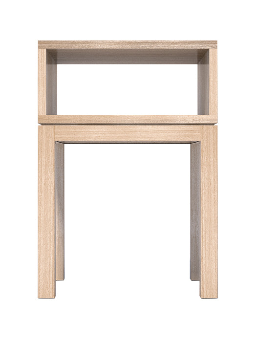 Huey Single Bedside Table - Bedside Table - The Natural Bedding Company