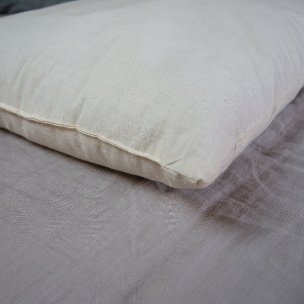 Wool Pillow - Pillows - The Natural Bedding Company