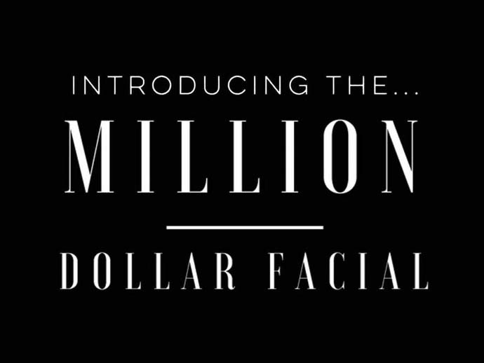NEW from Dermaplane... the Million Dollar Facial