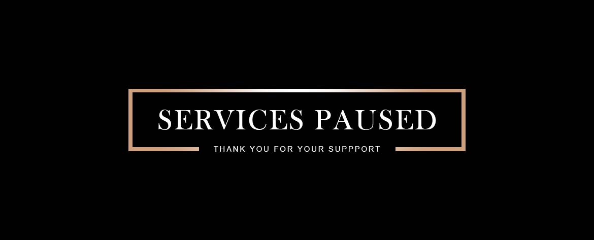 Services Paused at The Boutik Salon