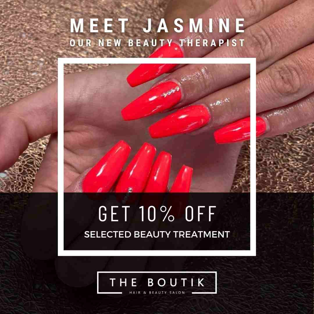 Nails by Jasmine at The Boutik