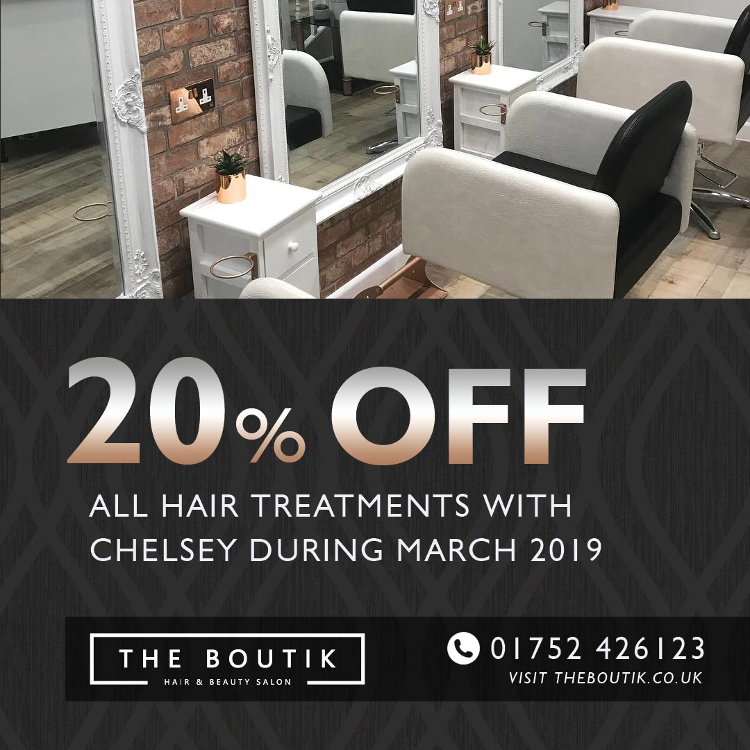 Offers from Chelsey during March 2019