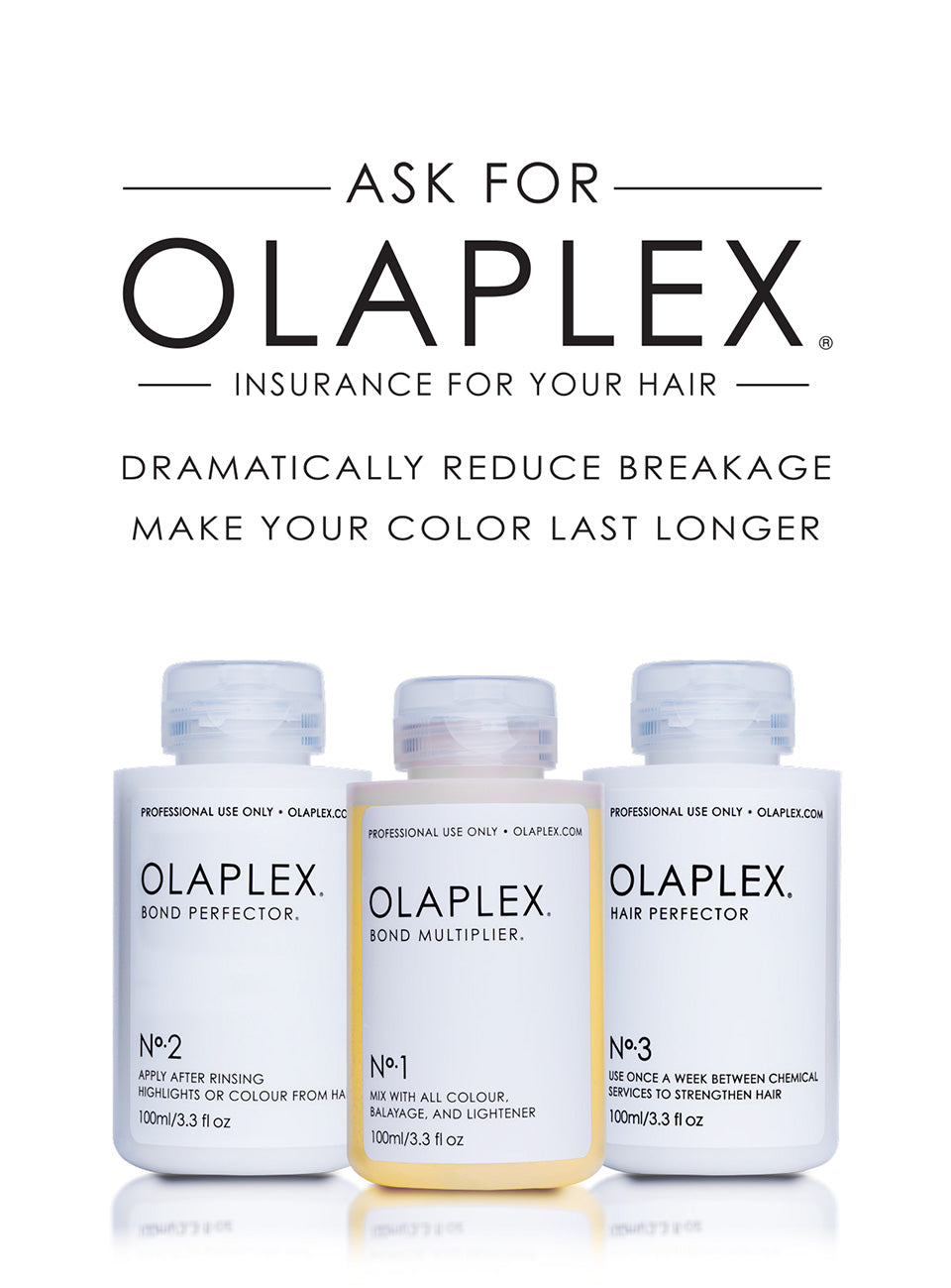 Ask For Olaplex at The Boutik Salon in Plymstock Plymouth
