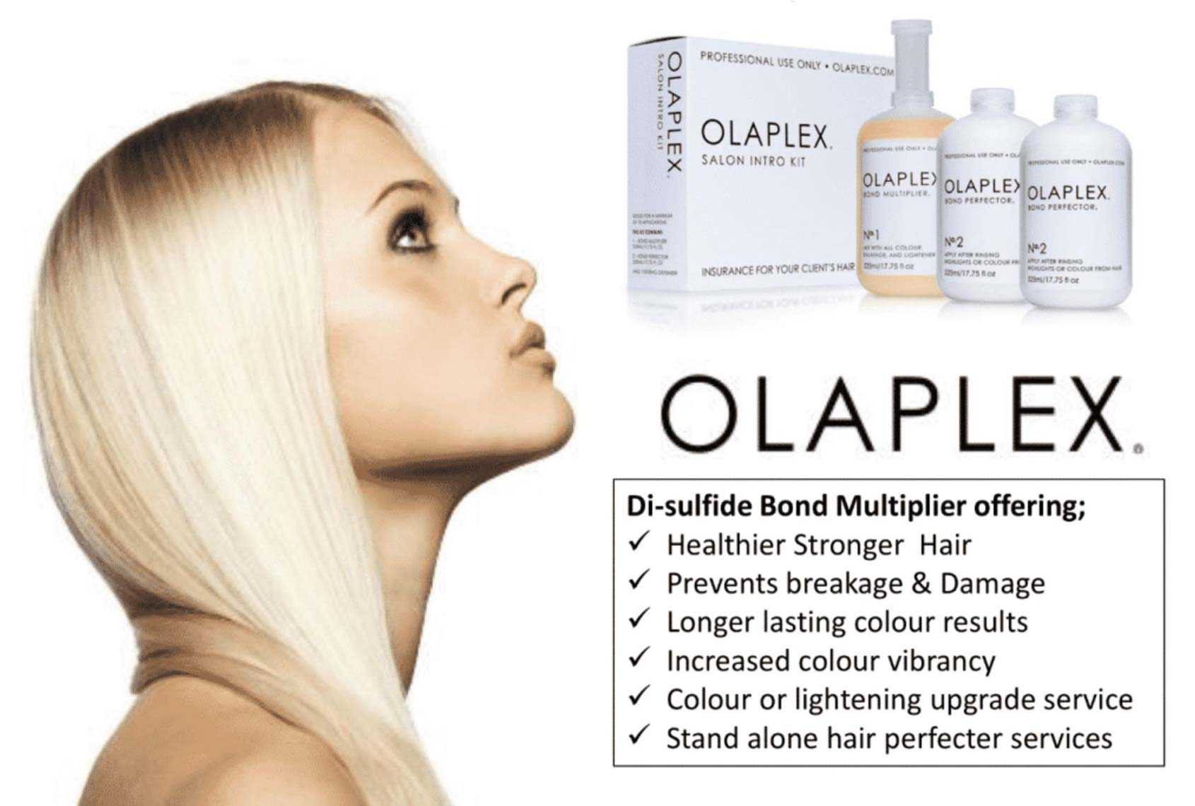 Introducing Olaplex at The Boutik salon in Plymouth