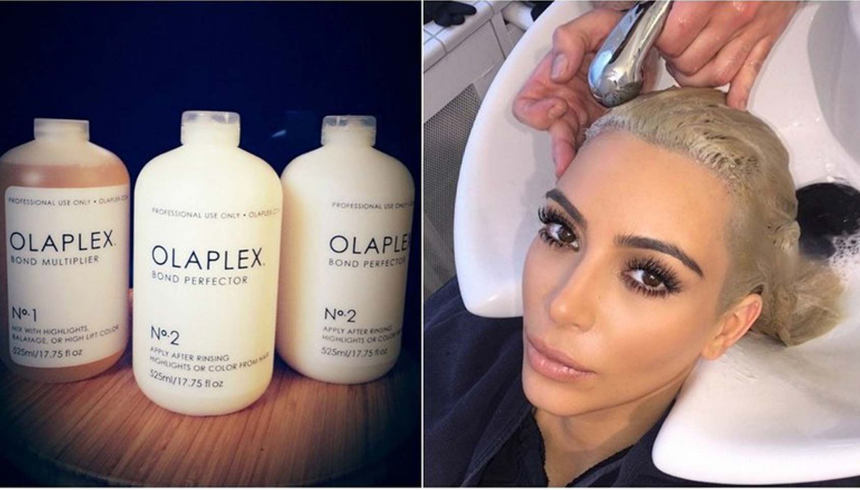 Olaplex and Kim K