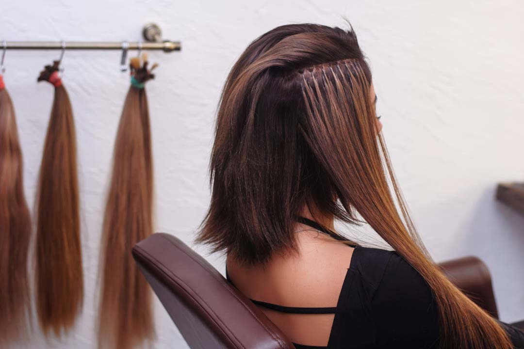 Hair Extensions Options at The Boutik Salon