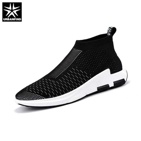 URBANFIND 2017 New Summer Mesh Slip-on Breathable Walking Casual Shoes
