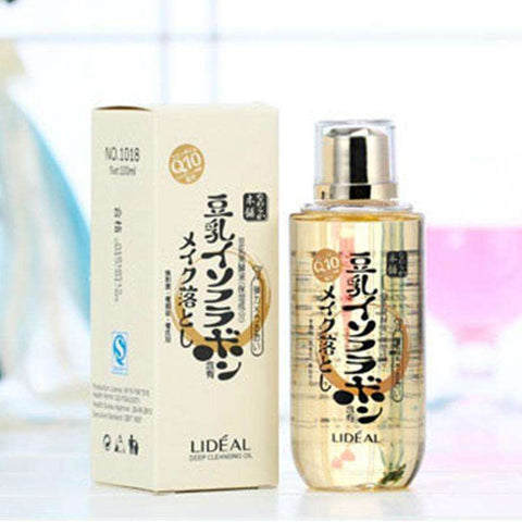 LIDEAL 100ml Professional Deep Clean Face Eye Demaquilante Makeup Remover Oil