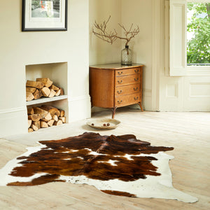 Luxury Tricolour Cowhide Rugs