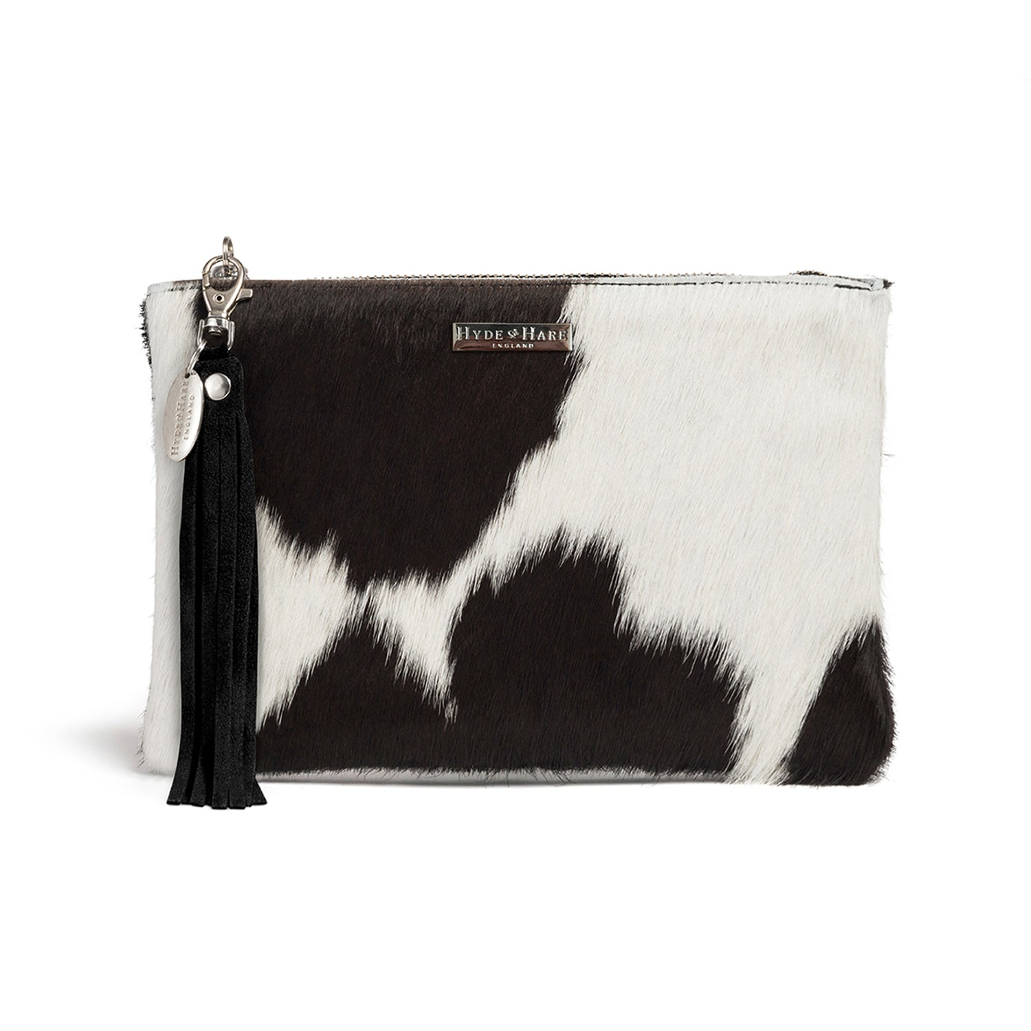 1d0dee0698c Cowhide Clutch | Handcrafted in England | Hyde & Hare
