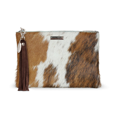The Arundell Cowhide Clutch