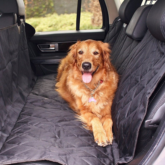 Luxury 2 in 1 WaterProof Pet Seat Cover for Cars and SUVs