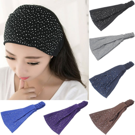Twist Headband for Skin Care or Makeup Application