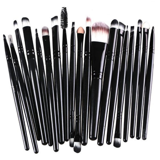 20 Piece Professional Makeup Brushes