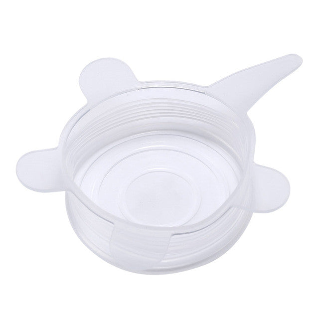 Silicone Suction Stretch Lids
