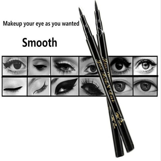 New Style Waterproof Liquid Eye Liner Pen Black