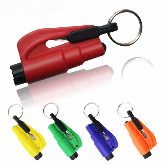 3 in 1 Emergency Mini Safety Hammer Keychain