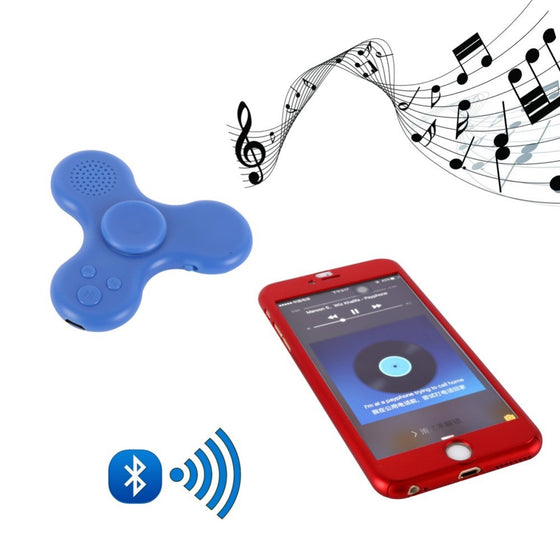 Bluetooth Music Fidget Spinner with LED Lights
