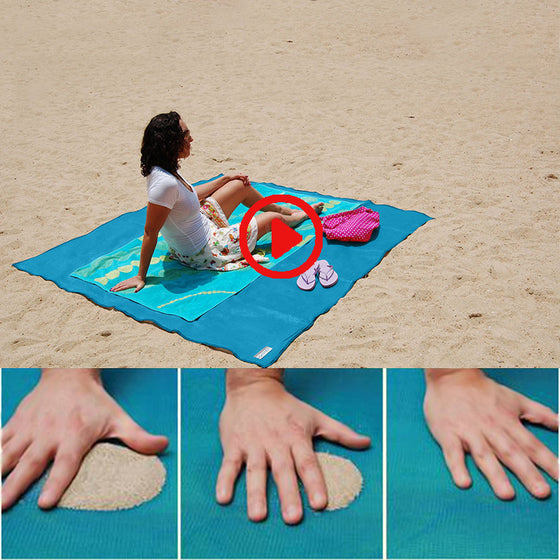 Cool Sand Free Beach Mat