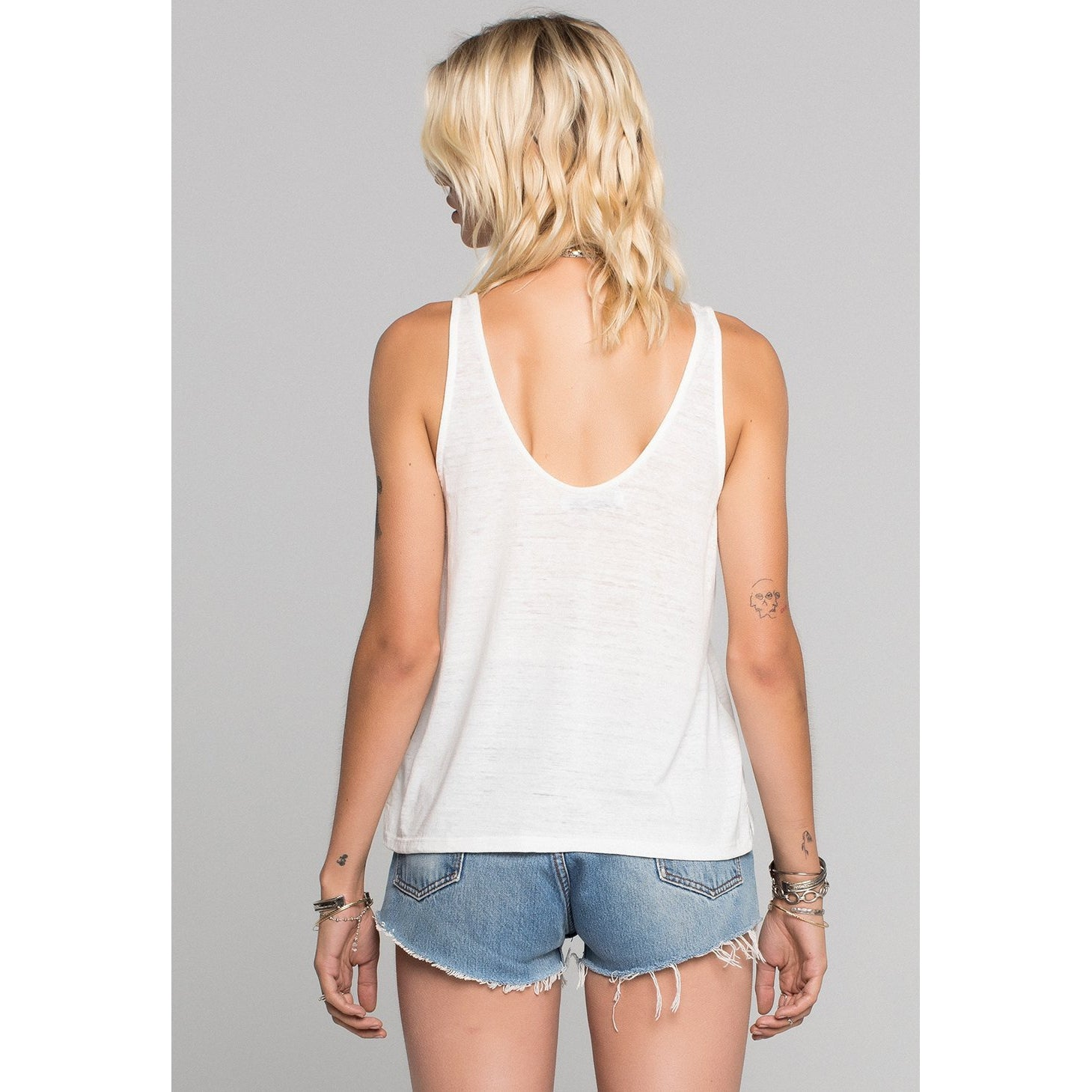 Smiley Burnout Scoop Tank