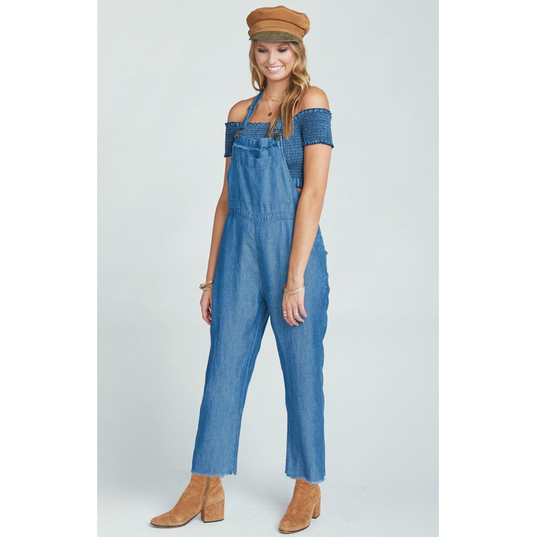 Kingston  Overalls ~ Deep Chambray
