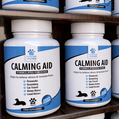 Calming Aid For Dogs: Chicken Flavour Chewable Tablets