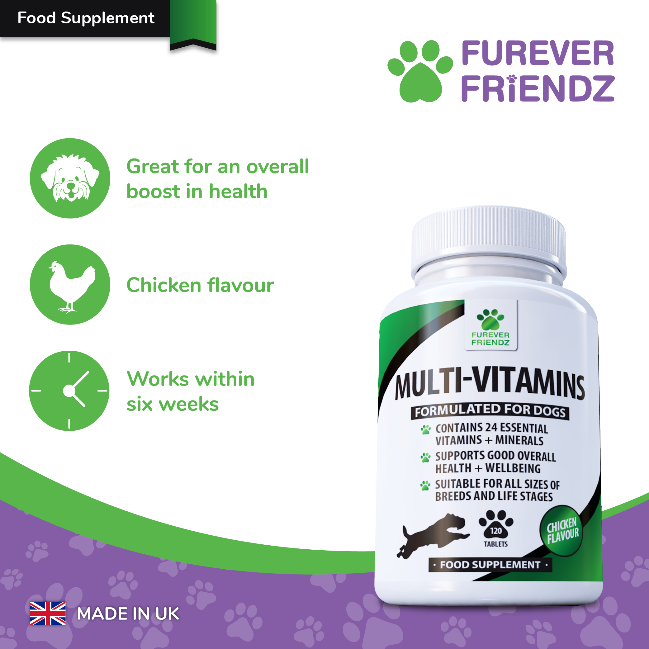 Daily Multi-Vitamins for Dogs: Overall Health & Well-Being