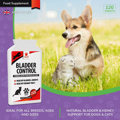 Bladder Support for Dogs & Cats - Helps with Urinary Tract Infections